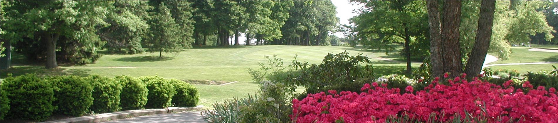 Plymouth Country Club golf course